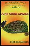 John Crow Speaks Front Cover